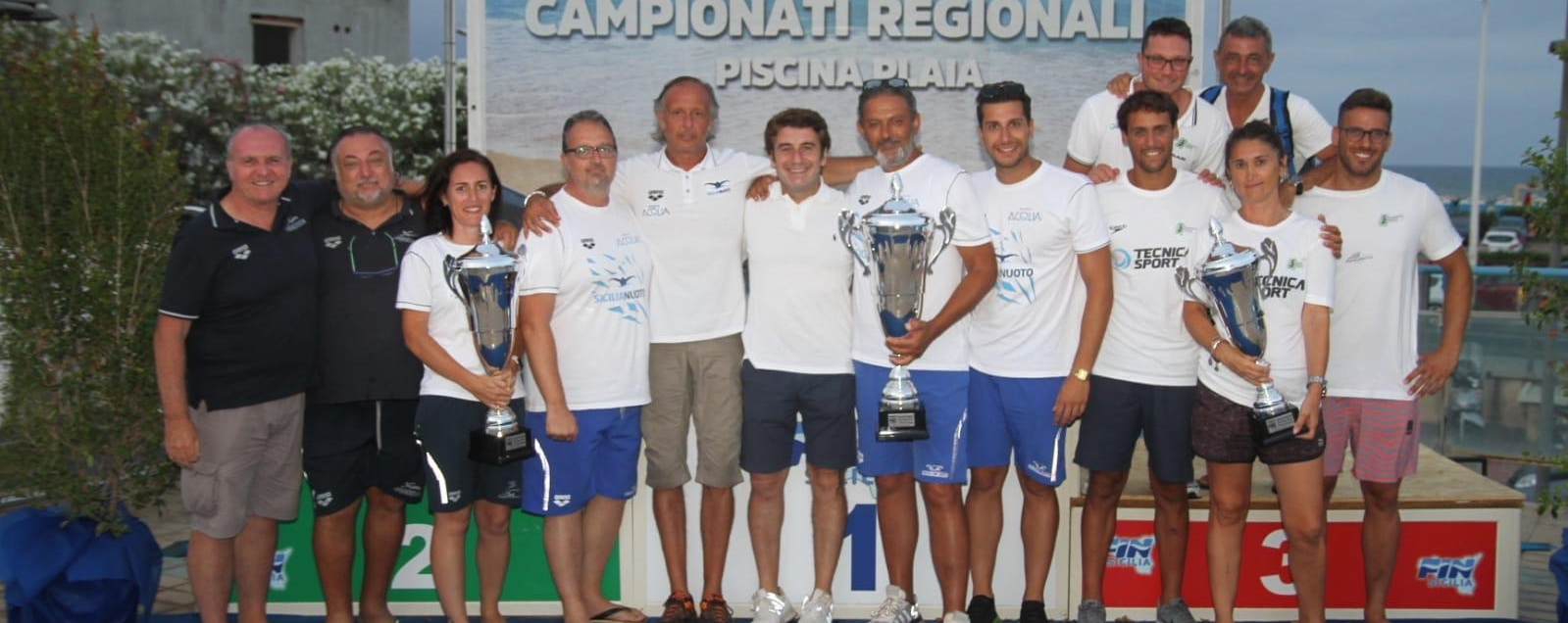 Sicilia Nuoto, la festa dei Ragazzi