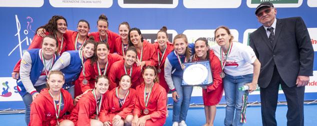 L'Ekipe e Wp Messina sul podio tricolore