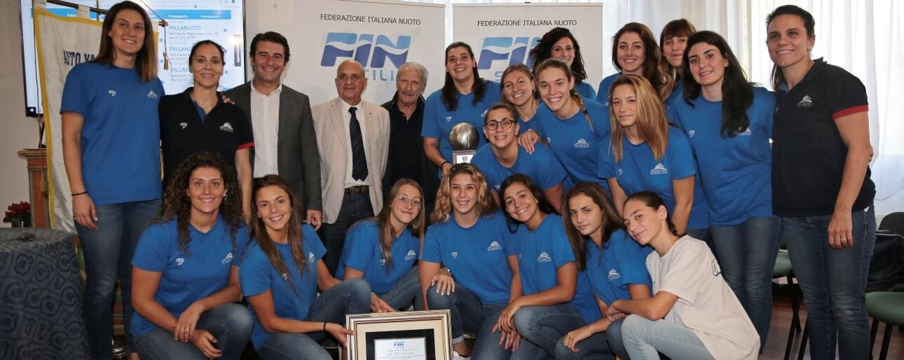 Pallanuoto di Sicilia, 2019 top class